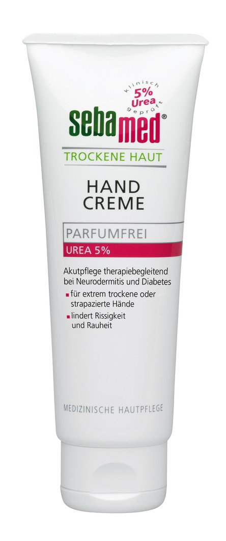sebamed trockene haut handcreme parf mfrei urea akut 5 75 ml tube online kaufen. Black Bedroom Furniture Sets. Home Design Ideas