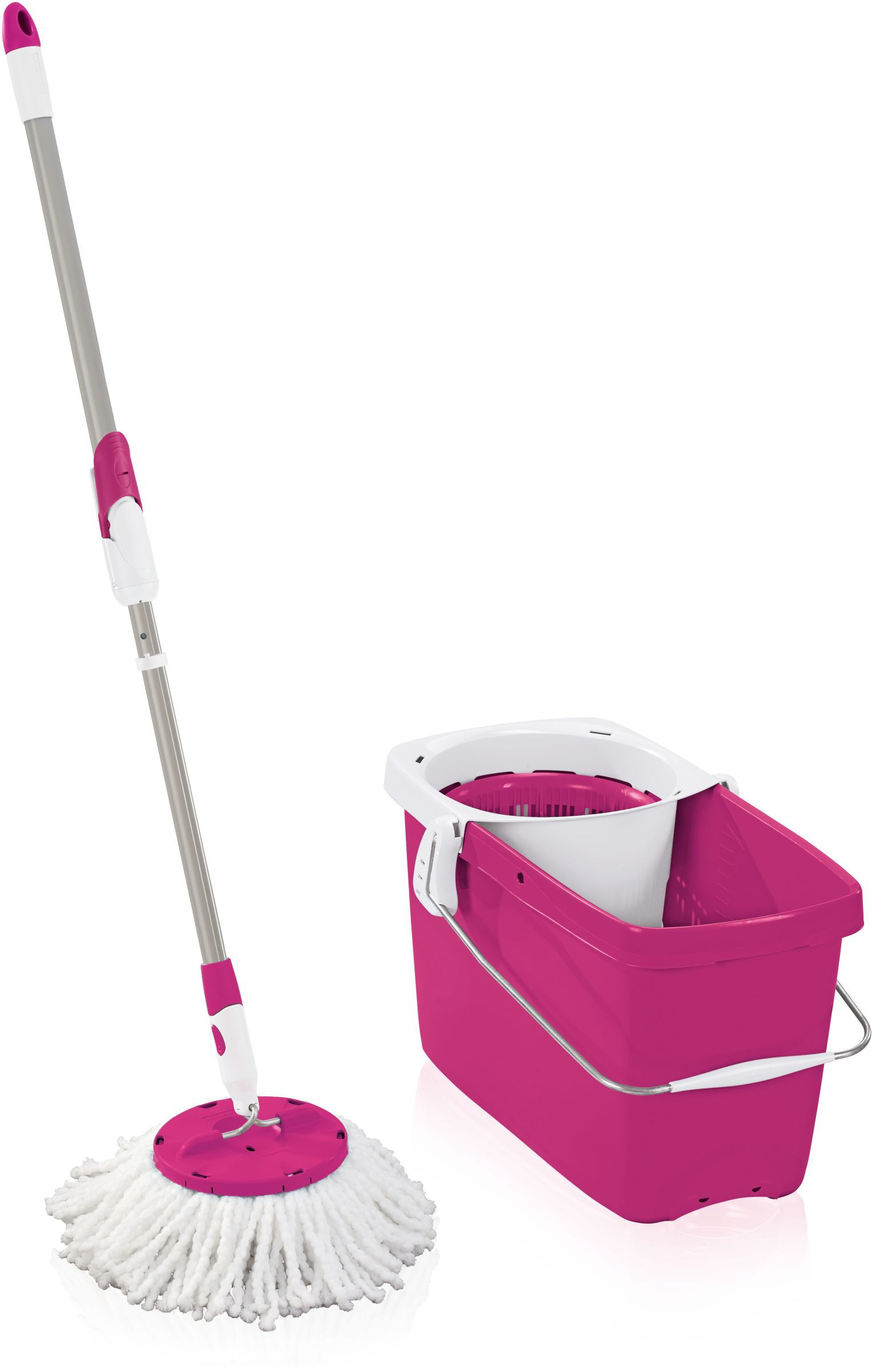 leifheit clean twist set disc mop farbe crazy pink online kaufen. Black Bedroom Furniture Sets. Home Design Ideas