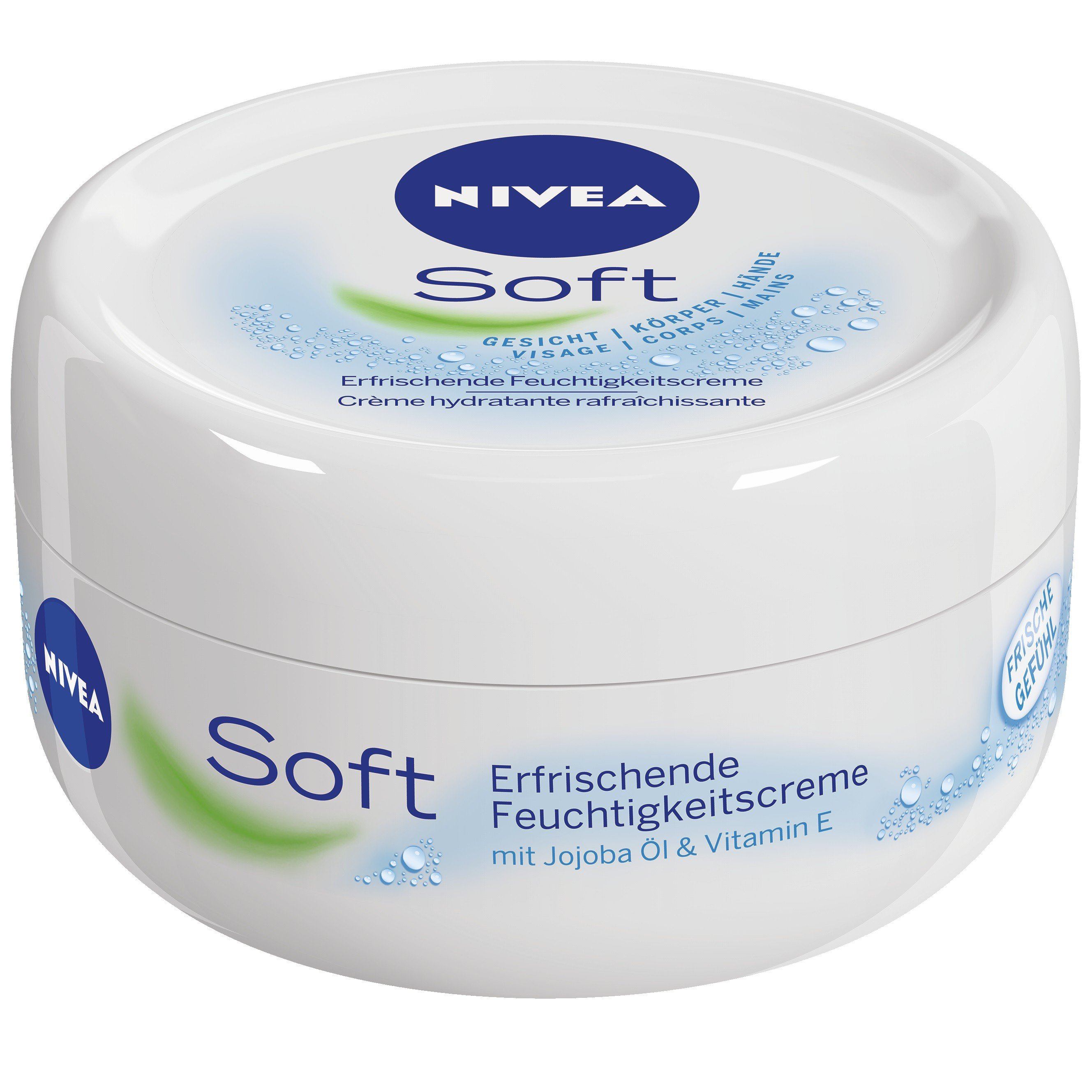 nivea soft hautpflege creme 200 ml dose online kaufen. Black Bedroom Furniture Sets. Home Design Ideas