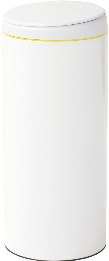brabantia abfalleimer flip bin 30 liter farbe white deckel hellgrau online kaufen. Black Bedroom Furniture Sets. Home Design Ideas
