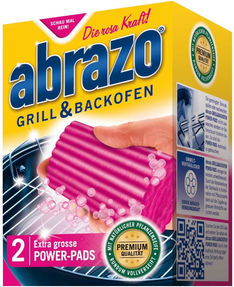abrazo grill backofen power pads 1 packung 2 st ck online kaufen. Black Bedroom Furniture Sets. Home Design Ideas