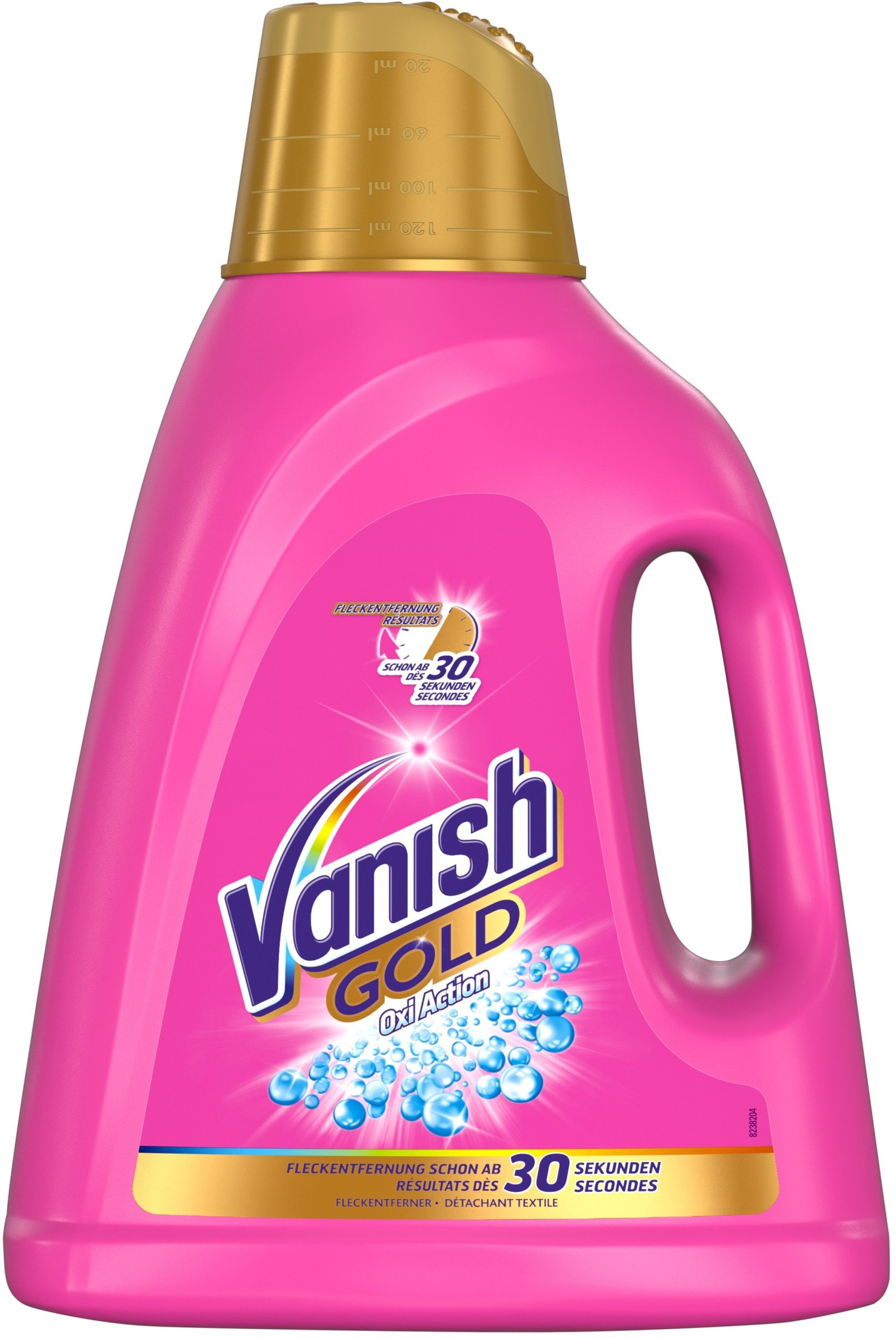 vanish gold oxi action instructions