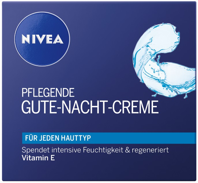 nivea face pflegende gute nacht creme 50 ml dose online kaufen. Black Bedroom Furniture Sets. Home Design Ideas