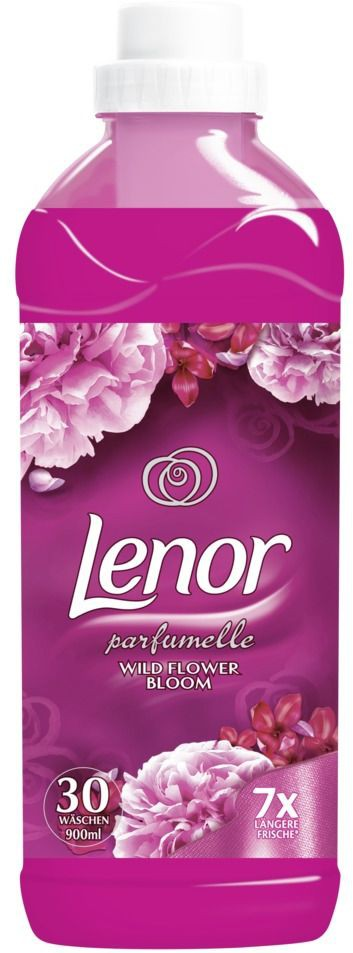 lenor weichsp ler wild flower bloom 900 ml flasche. Black Bedroom Furniture Sets. Home Design Ideas