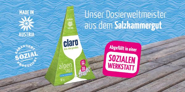 Qualitätssalz aus den österreichischen Alpen für Ihre Spülmaschine!