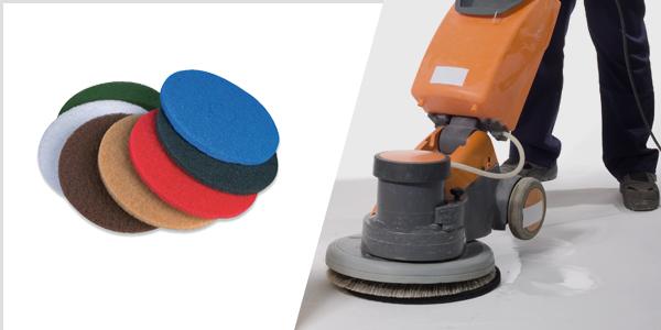 Maschinenpads für die Professionelle Bodenreinigung!