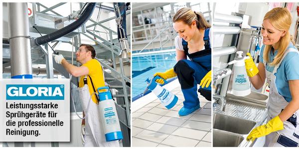 Sprühgeräte für die professionelle Reinigung