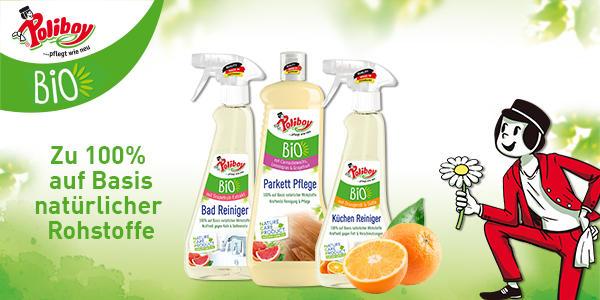 Nachhaltige Reinigung und Pflege mit Poliboy!