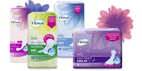 Produkte bei Blasenschwäche für Frauen