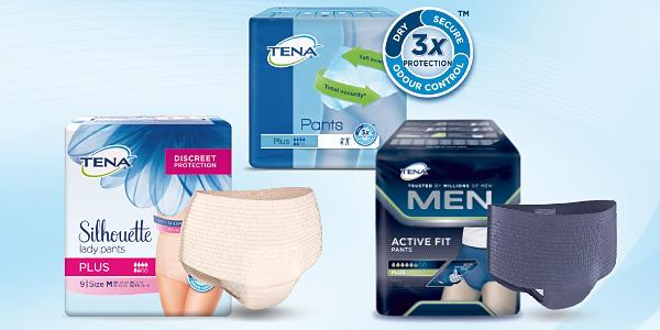 TENA Pants - mehr Schutz, mehr Komfort!