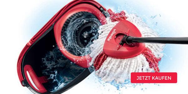 Vileda Turbo - für schnelle und gründliche Reinigungsergebnisse!