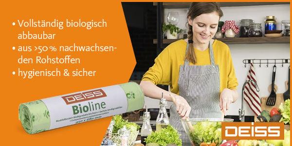 Biomüllbeutel mit Feuchtigkeitsbarriere