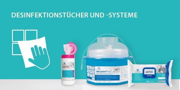 Desinfektionstücher & -systeme