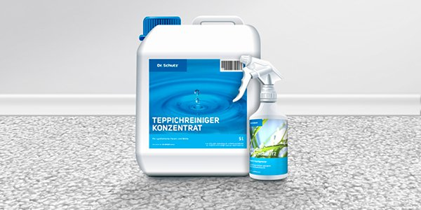 Ihr Reinigungsmittel für einen sauberen Teppich!