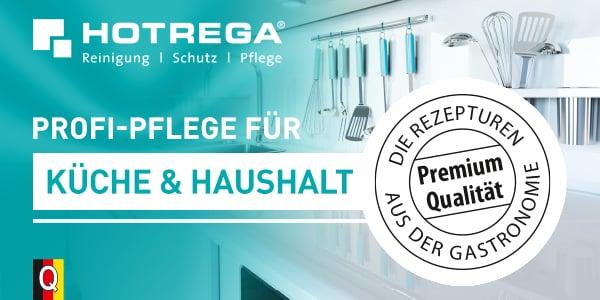 Profi-Produkte für Reinigung, Schutz und Pflege im gesamten Küchenbereich