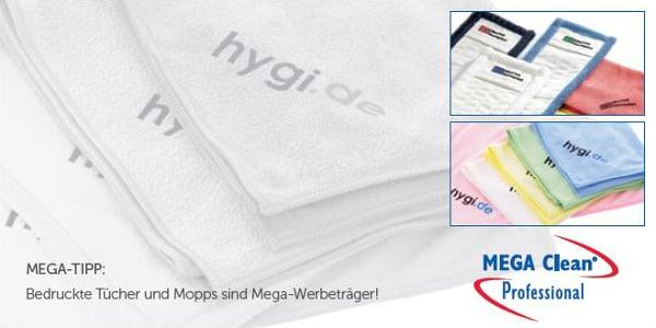 Mikrofasertücher als MEGA Werbeträger