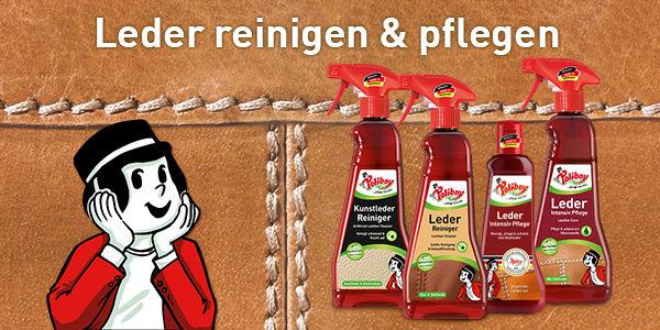 Porentiefe Reinigung und Pflege von Leder!