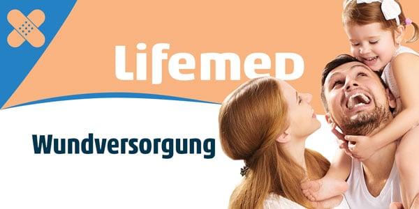 Hautfreundliche Lifemed-Medizinprodukte zur Wundversorgung!