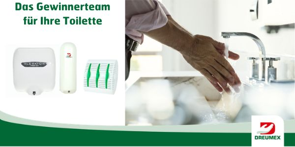 Effiziente Lösungen für Ihren Waschraum!