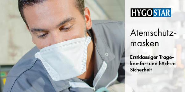 Atemschutzmasken und Mundschutz