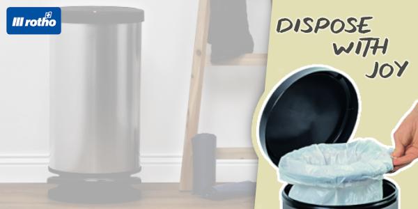 Hygiene für Ihren Haushalt - mit den Rotho Abfallsystemen!