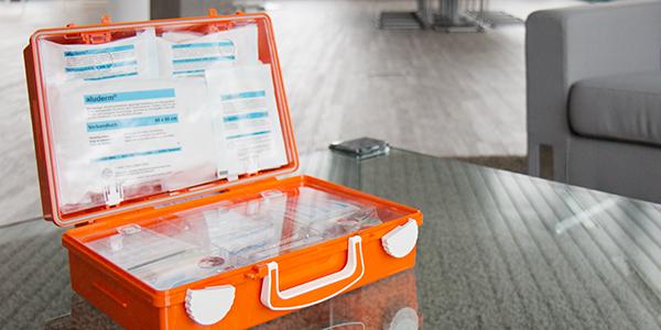 Eine starke Erstversorgung mit den Erste-Hilfe Koffer von SÖHNGEN®!