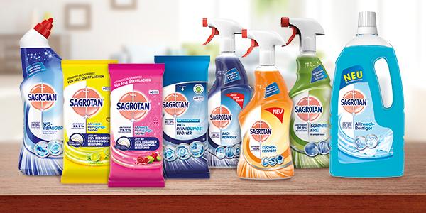 Ein sauberes Zuhause mit Sagrotan!