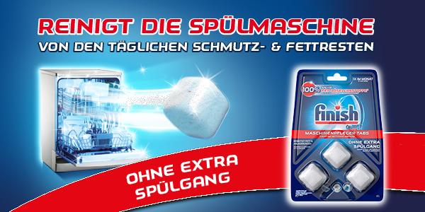Maschinenpflege-Tabs von Finish!