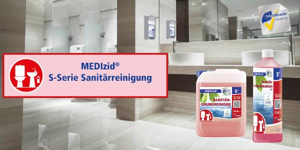 Für saubere Sanitärräume unverzichtbar!