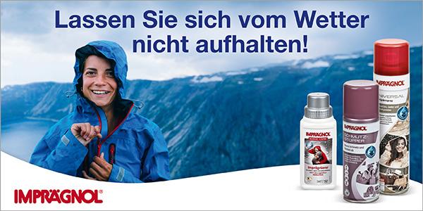 Schutz vor Wind und Wetter mit den IMRPRÄGNOL Imprägnierungen!