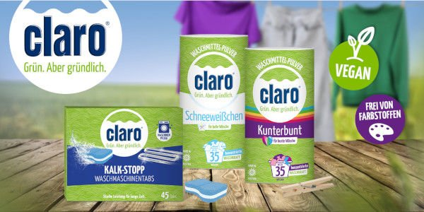 Umweltfreundliche Waschmittel und Waschhilfsmittel!