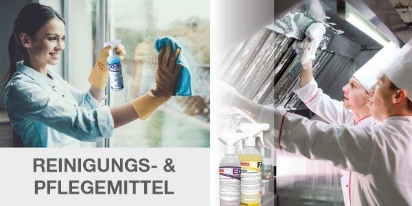 Reinigungs- und Pflegemittel für alle Oberflächen!