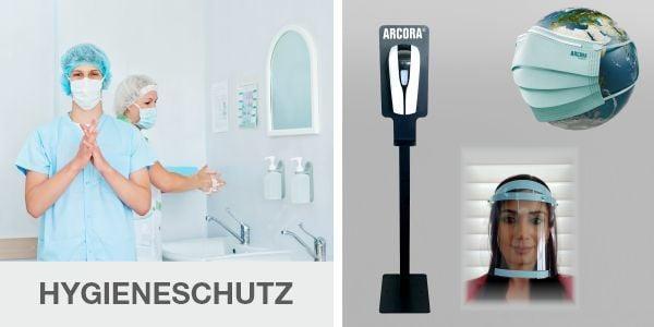 Hygienischer Schutz für den privaten und öffentlichen Bereich!