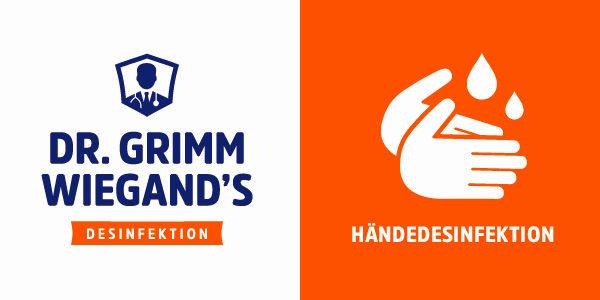 Schützen Sie sich effektiv mit der Händedesinfektion von Dr. Grimm Wiegand's!