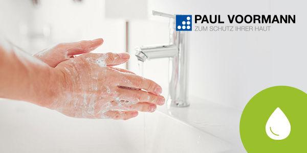 Erfahren Sie, wie Sie Ihre Haut bei der Arbeit optimal reinigen