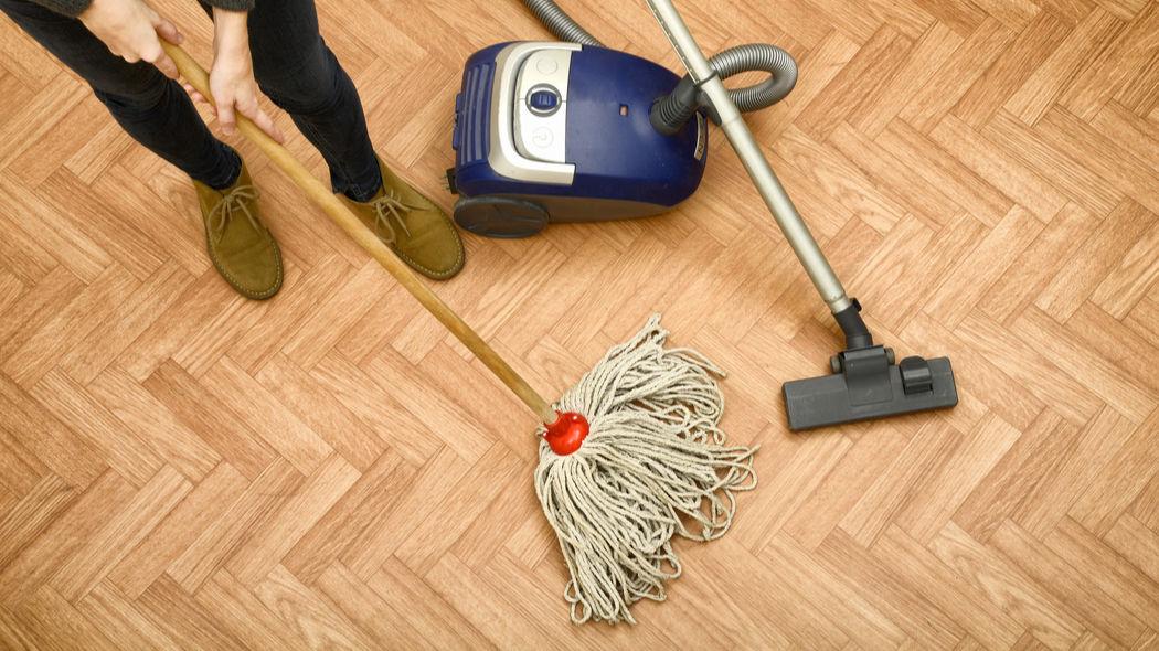 Parkettboden reinigen - Der Ratgeber