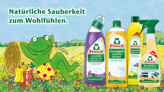 Entdecke Frosch für dein sauberes Zuhause!