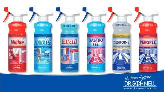Reinigungsmittel für Profis von Dr. Schnell!
