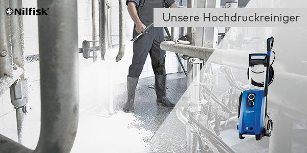 Leistungsstarke Industrie-Hochdruckreiniger von Nilfisk jetzt kaufen!