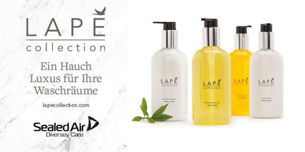 Die LAPE collection verwöhnt ihre Kunden mit purem Luxus! Jetzt zugreifen!