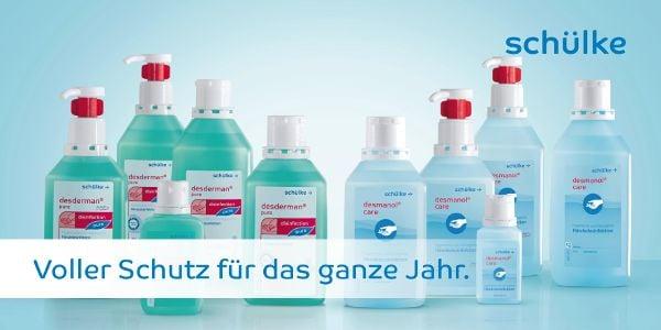 Sicher zurück in die Schule mit Desinfektionsmittel von Schülke & Mayr!