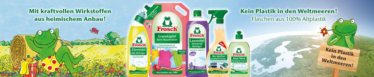 Zur Frosch Markenwelt!