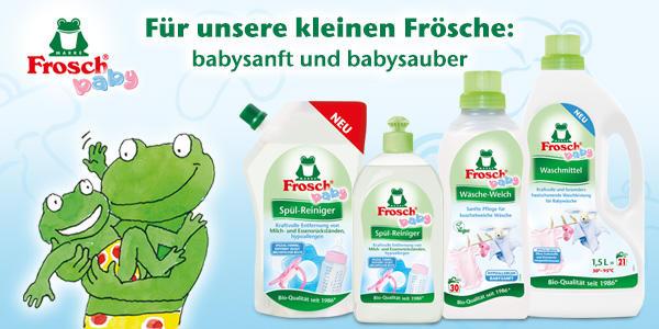 Frosch Baby - Alles für die Babypflege