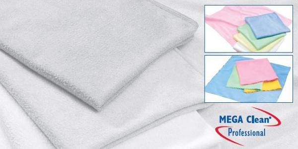 Mikrofasertücher für die professionelle Gebäudereinigung