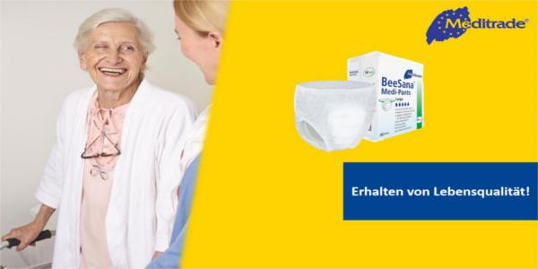 Zuverlässiger Inkontinenzschutz zum Wohlfühlen!